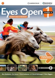 [9781107486041] PLATAFORMA EYES OPEN STUDENTS BOOK & WORKBOOK 1 COMBO B